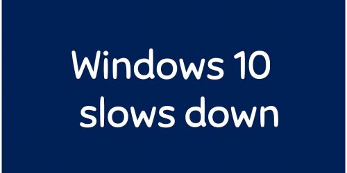 Improve Windows 10 System performance (PART 1)