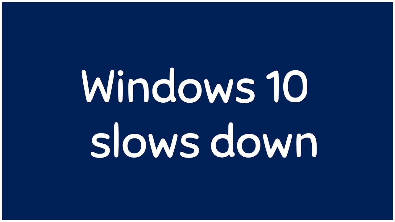 Improve Windows 10 System performance (PART 1)