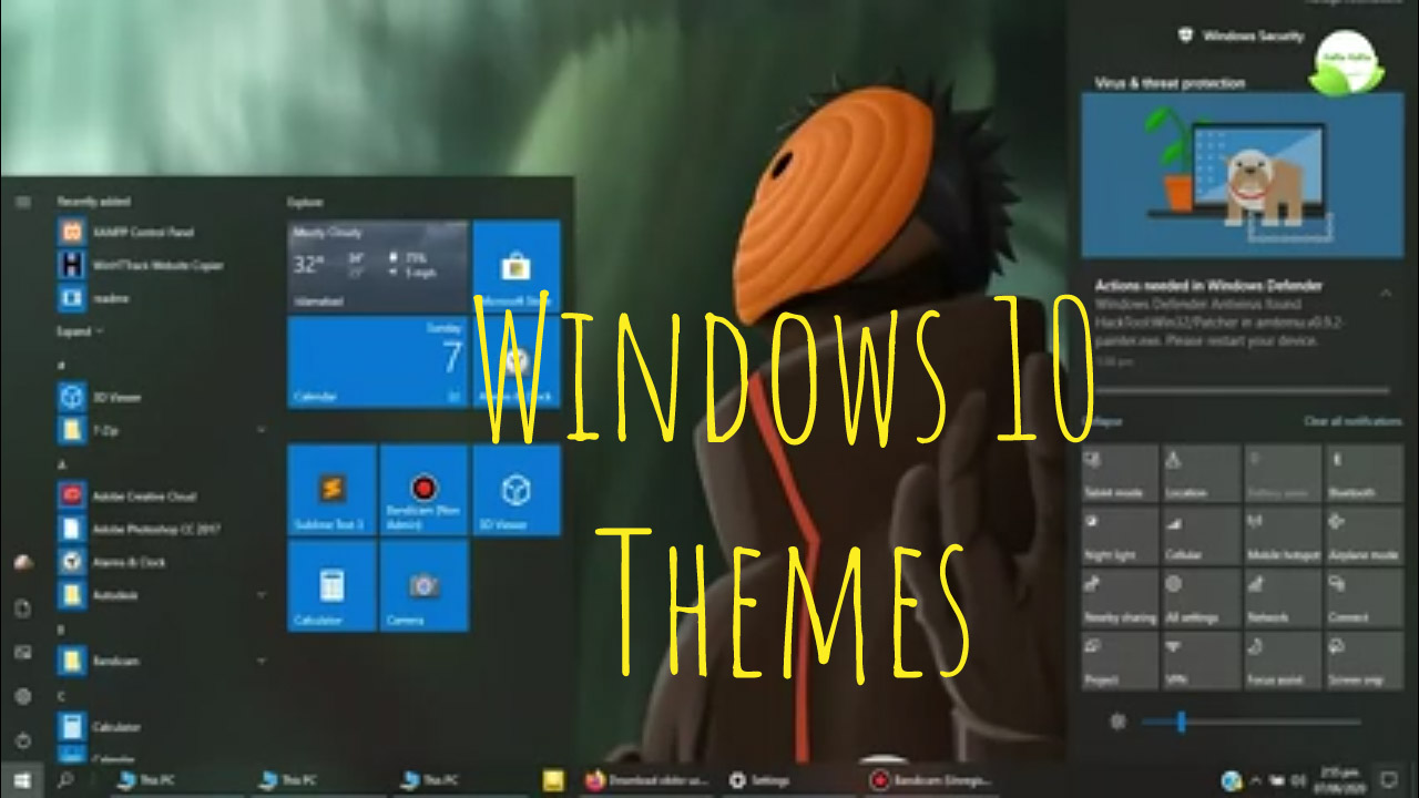 Best Windows 10 Themes 2020 and skins free download